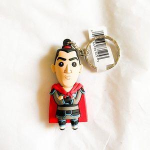 Disney Mulan Li Shang Keychain